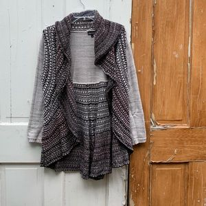 Dor Dor Couture knit cardigan Size Small